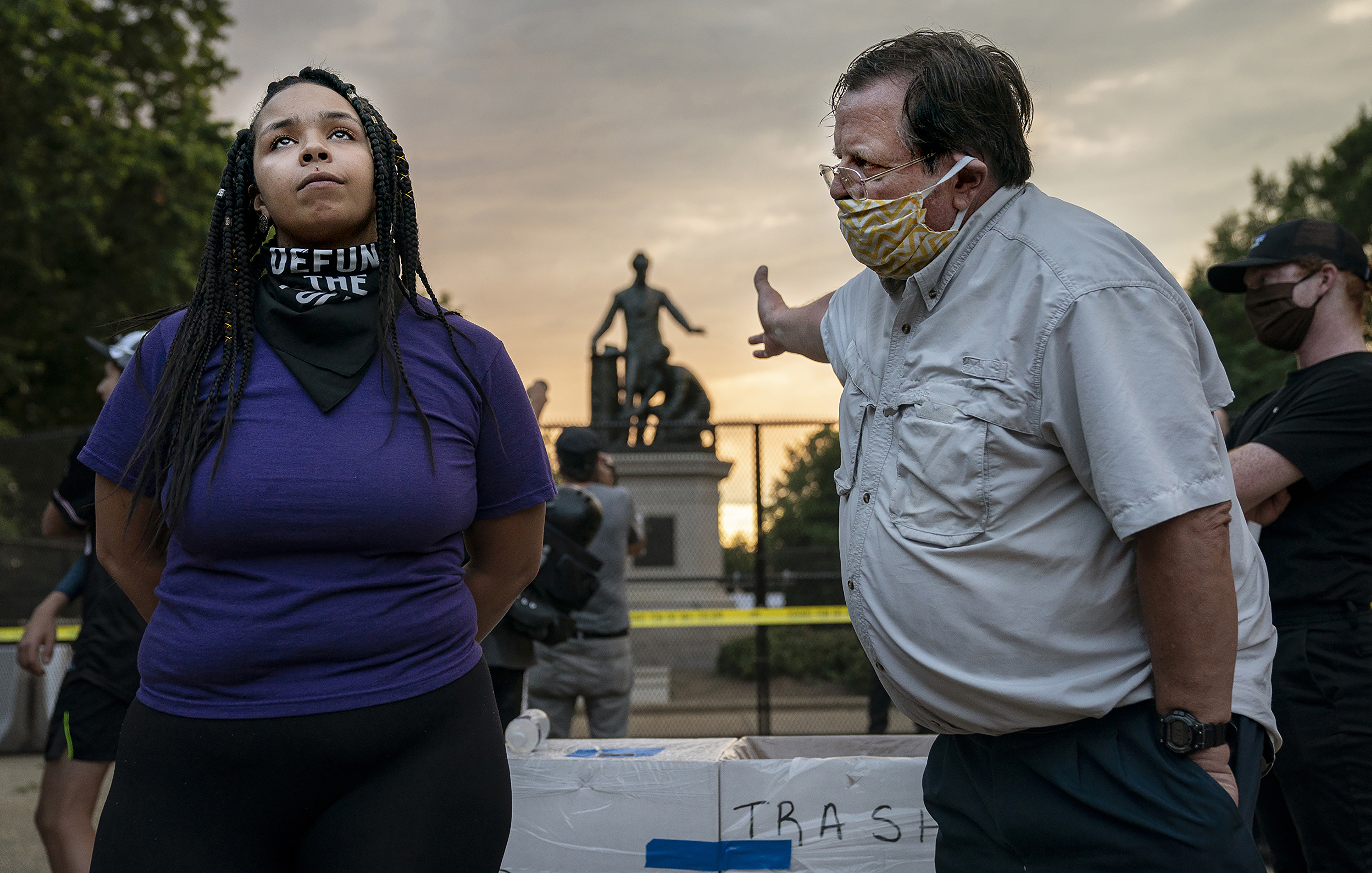 Emancipation Memorial Debate, Evelyn Hockstein, United States, for The Washington Post