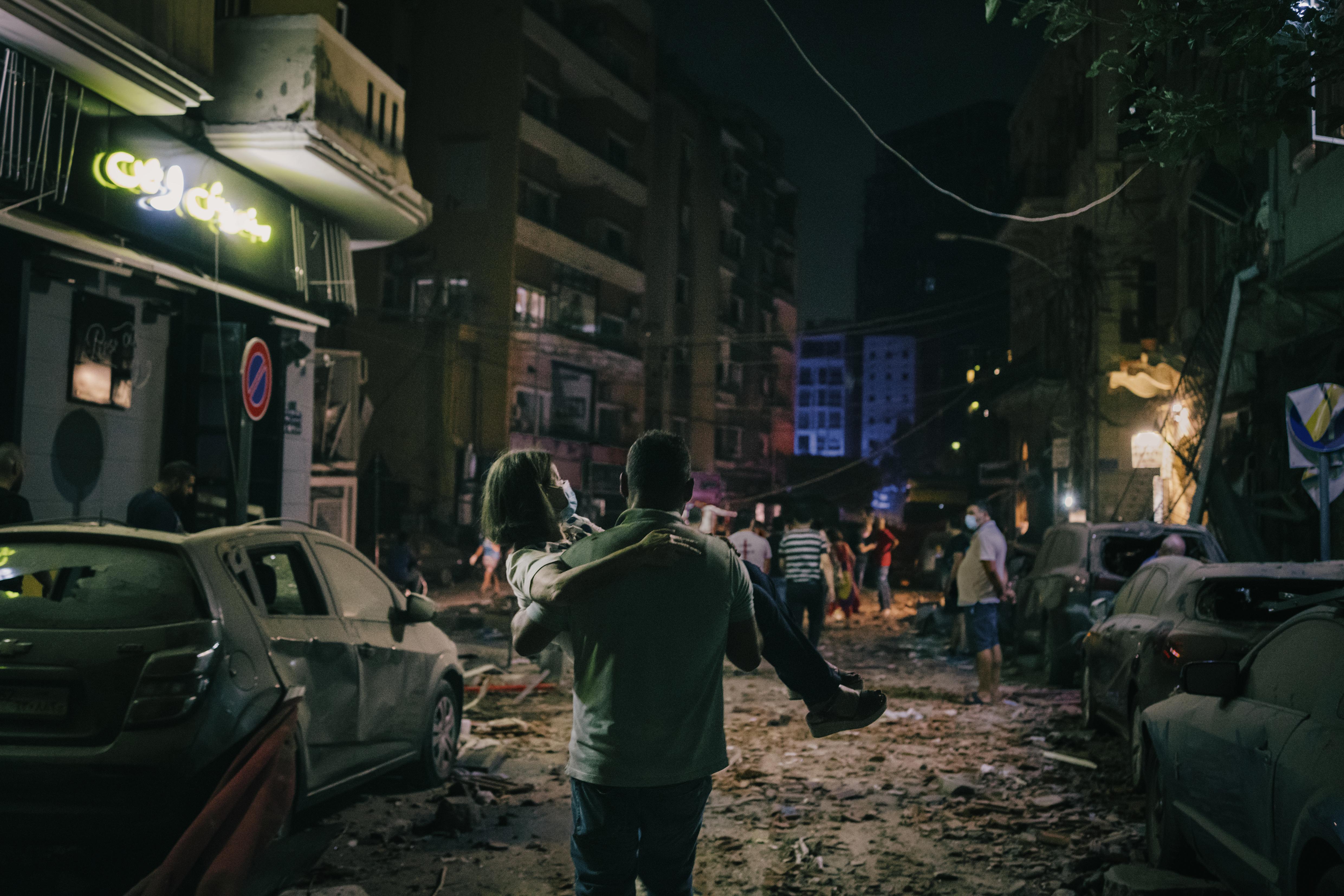 Port Explosion in Beirut, Lorenzo Tugnoli, Italy, Contrasto