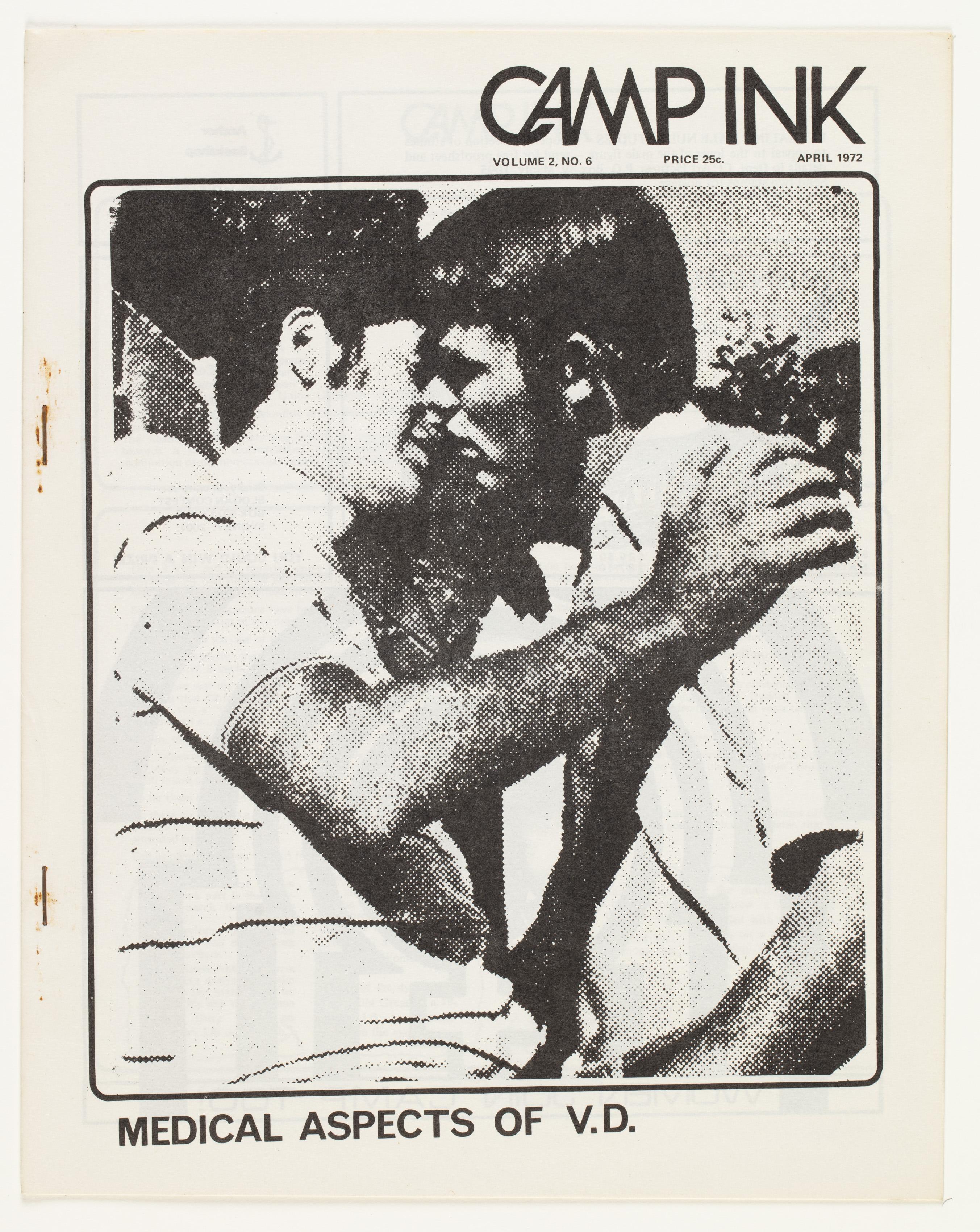 Camp Ink. Vol. 2, No.6 (April 1972)