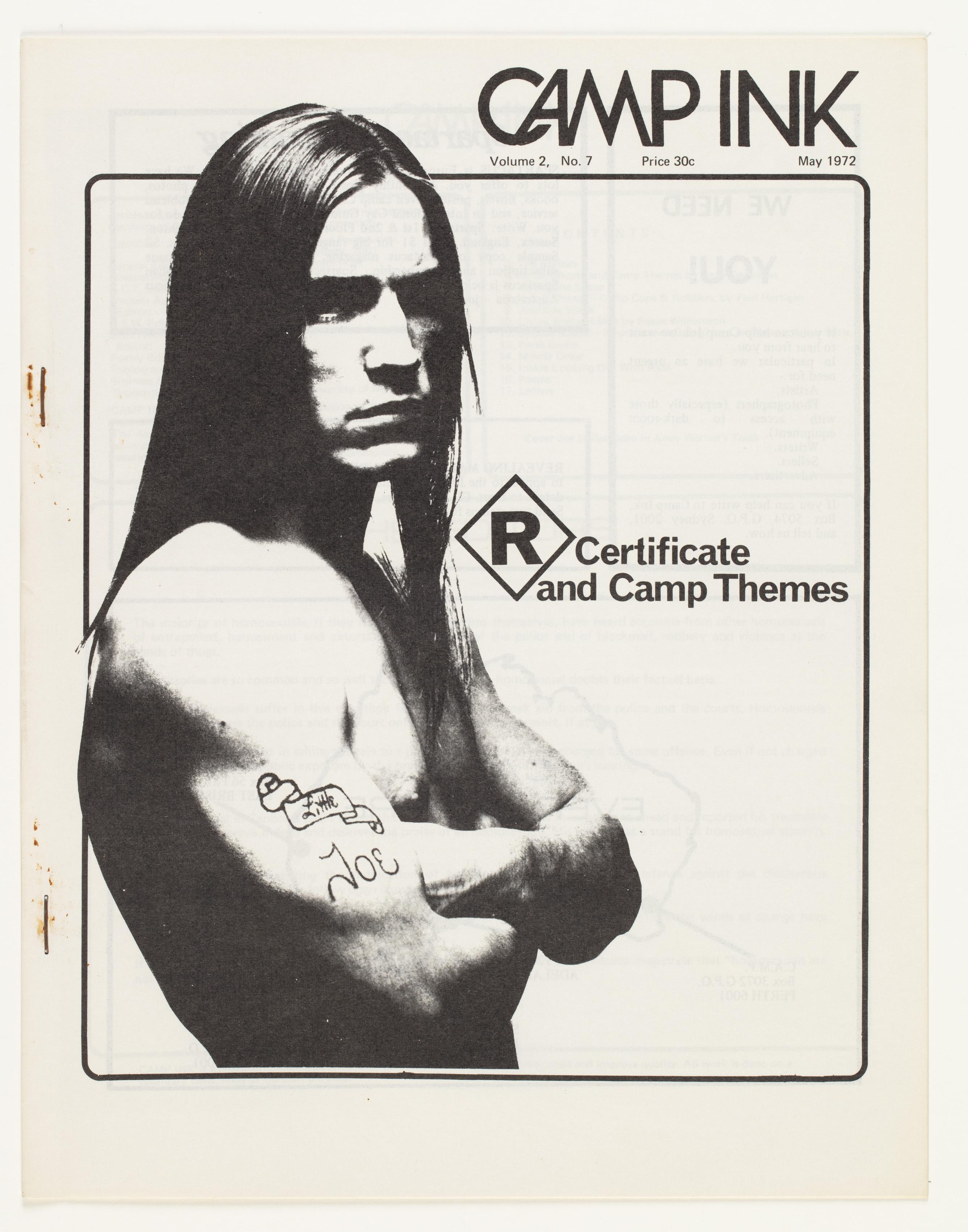 Camp Ink. Vol. 2, No.7 (May 1972)