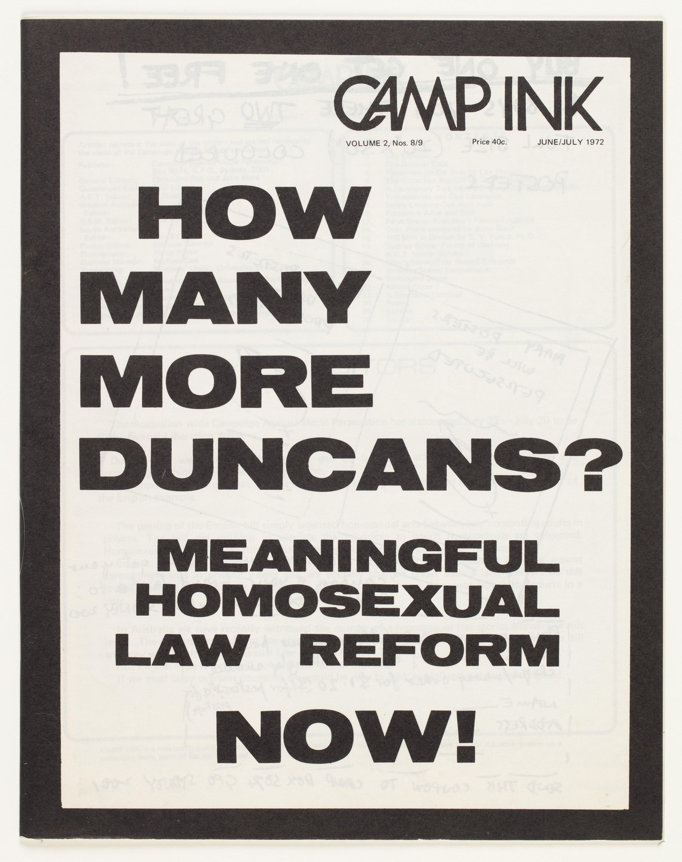 Camp Ink. Vol. 2, No.8-9 (June-July 1972)