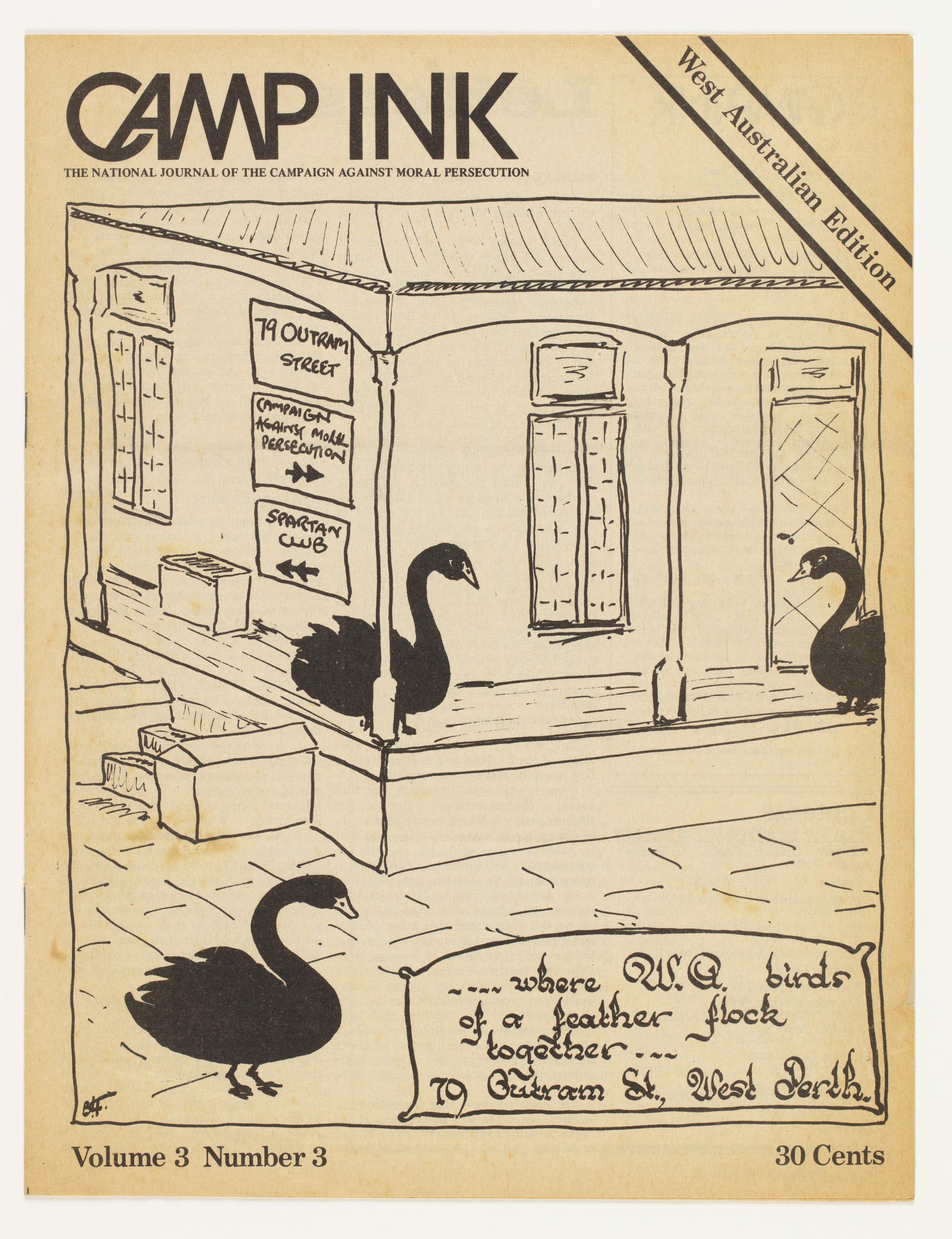 Camp Ink. Vol. 3, No.3 (January 1973)