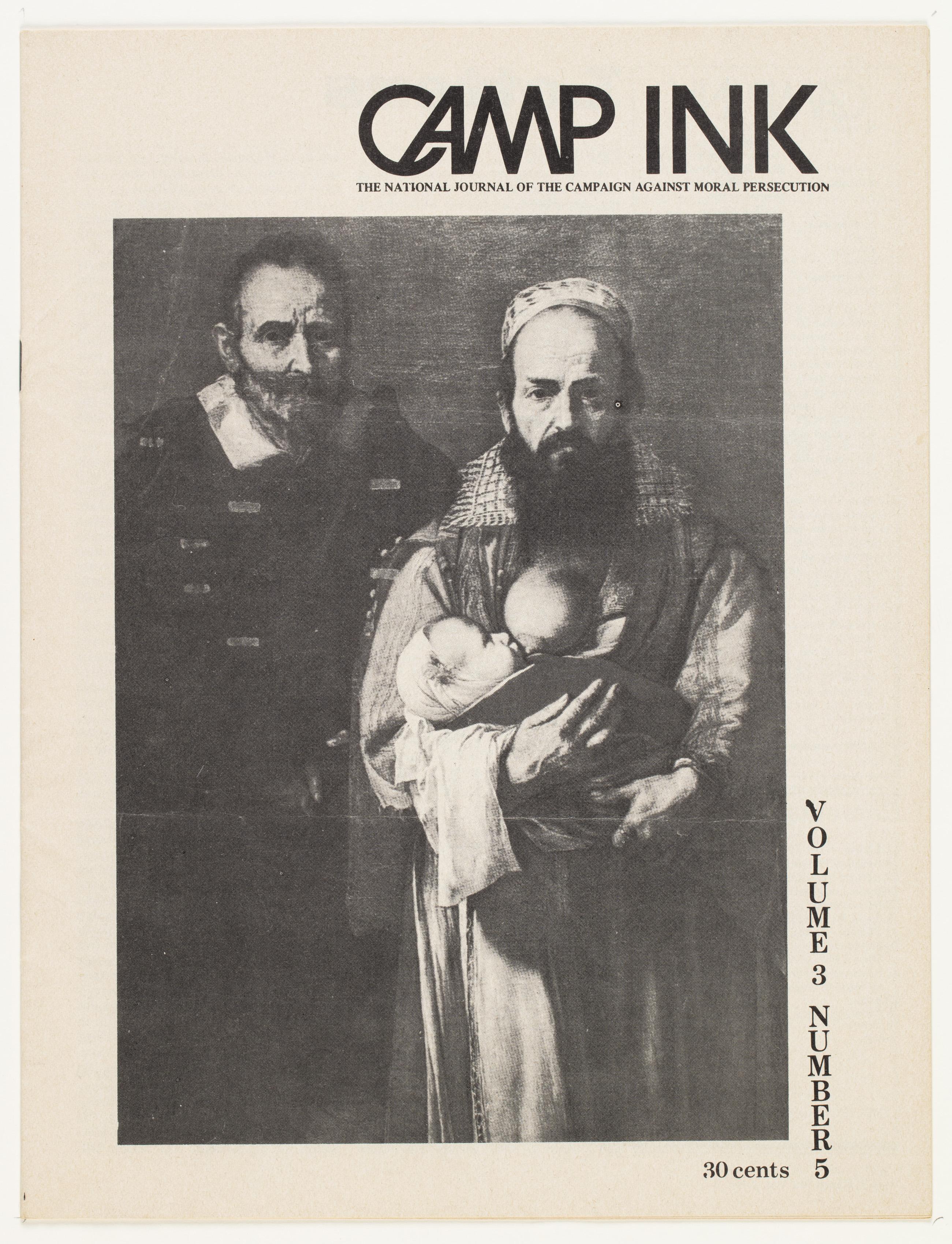 Camp Ink. Vol. 3, No.5 (March 1973)