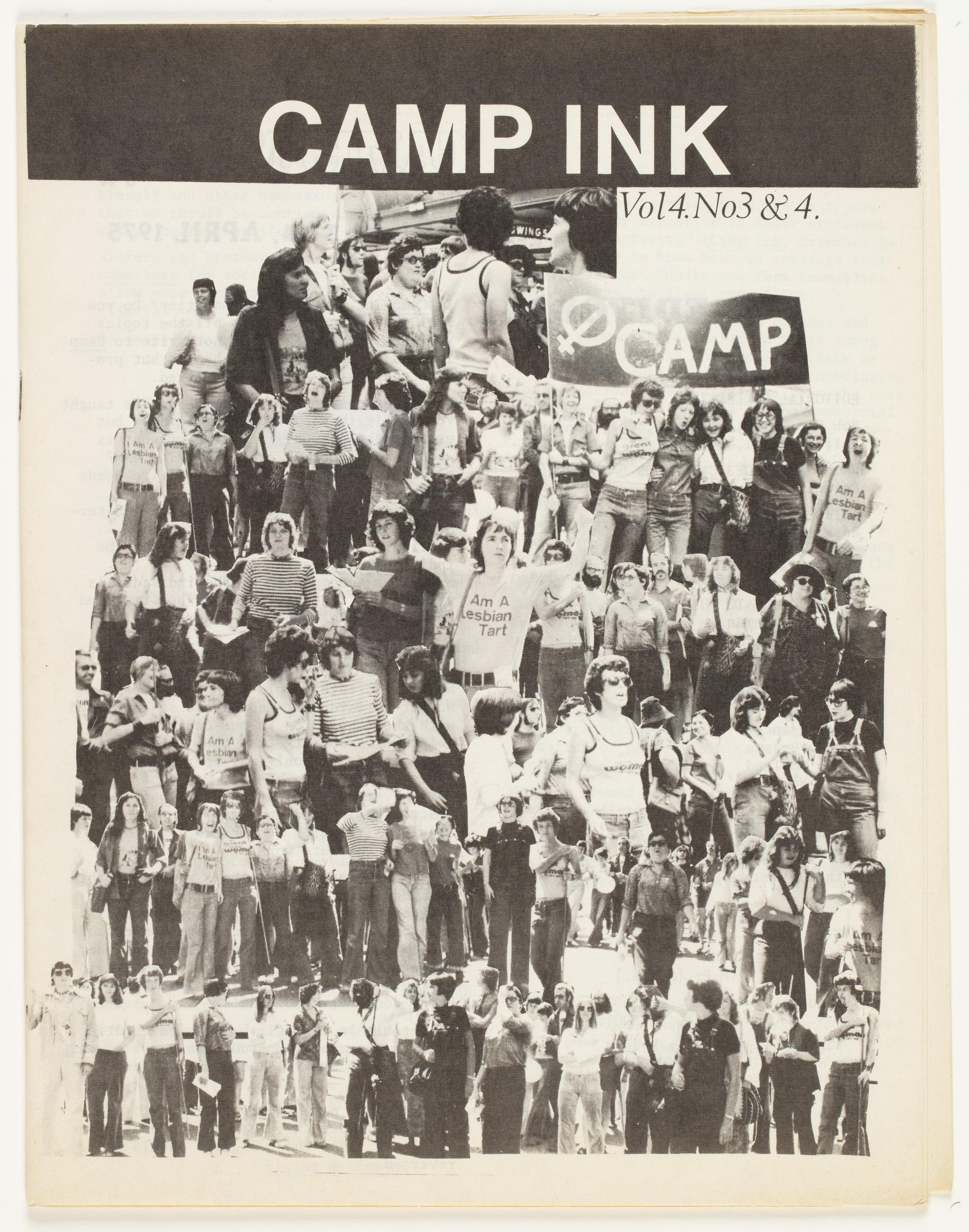 Camp Ink. Vol. 4, No.3-4 (April 1975)