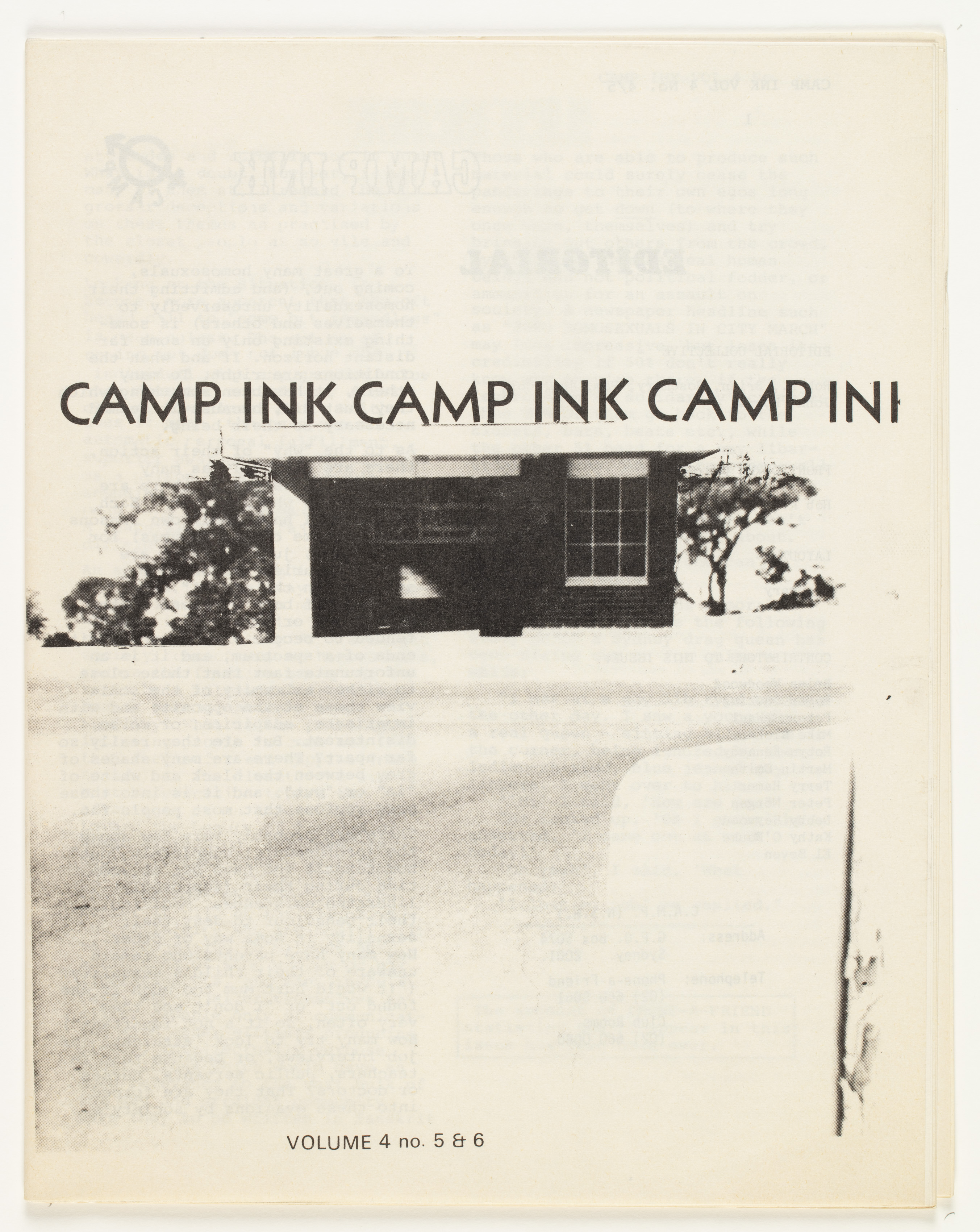 Camp Ink. Vol. 4, No.5-6 (May 1975)