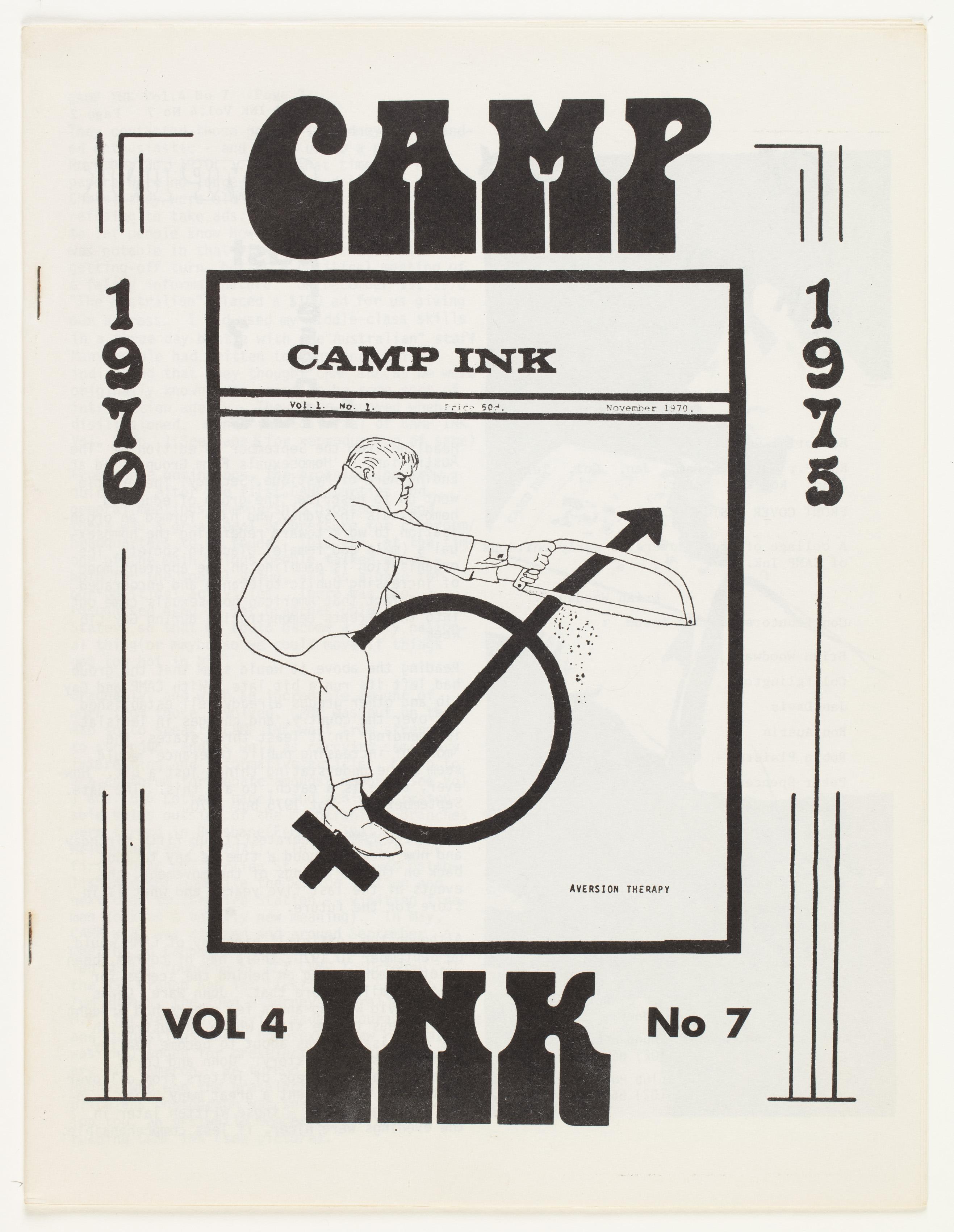 Camp Ink. Vol. 4, No.7 (July 1975)