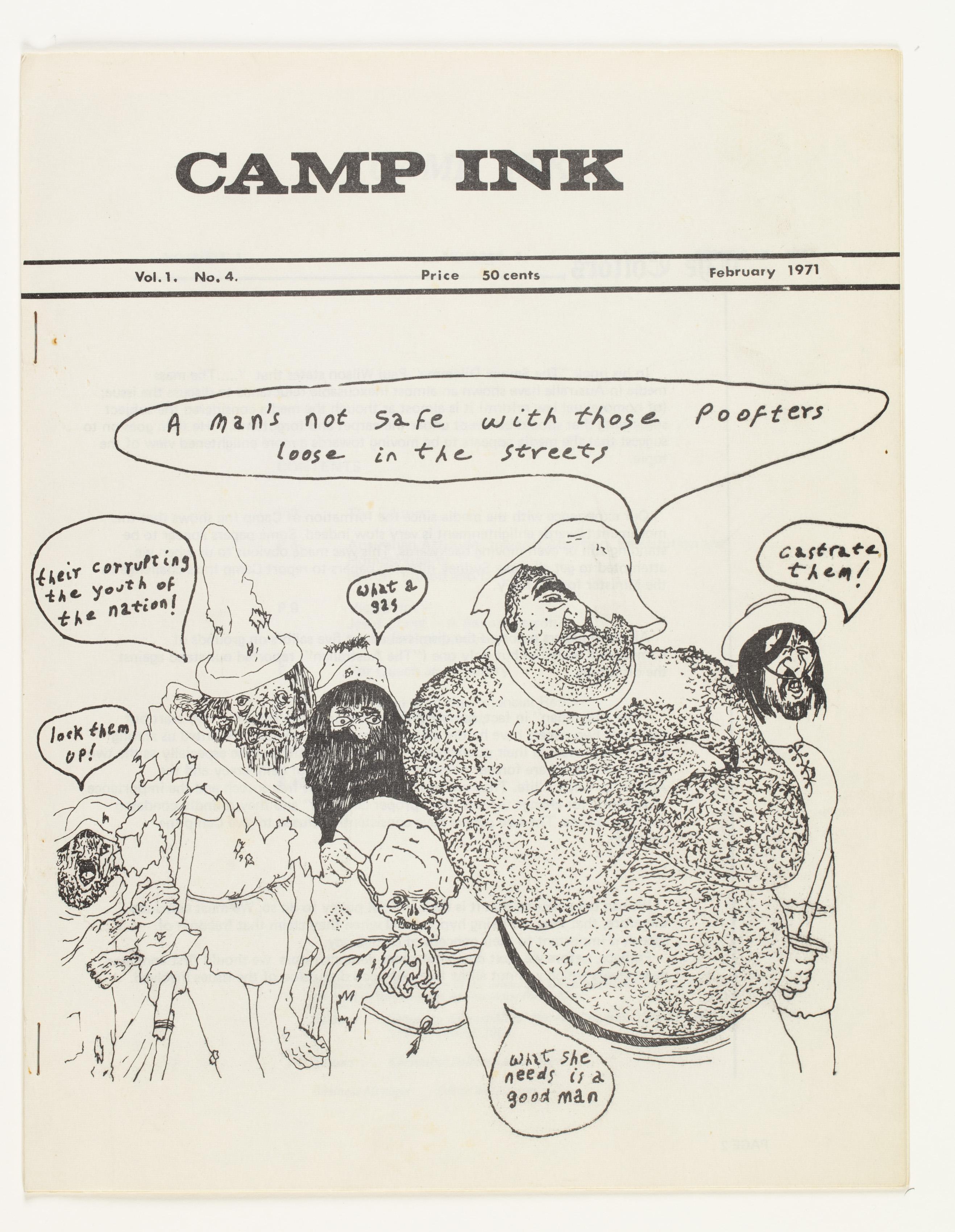 Camp Ink. Vol. 1, No.4 (February 1971)