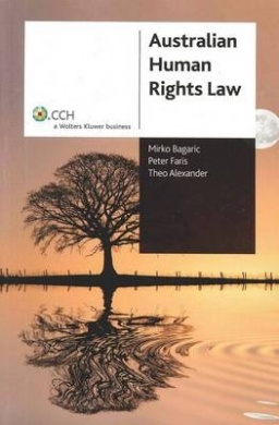 Cover for Australian human rights law