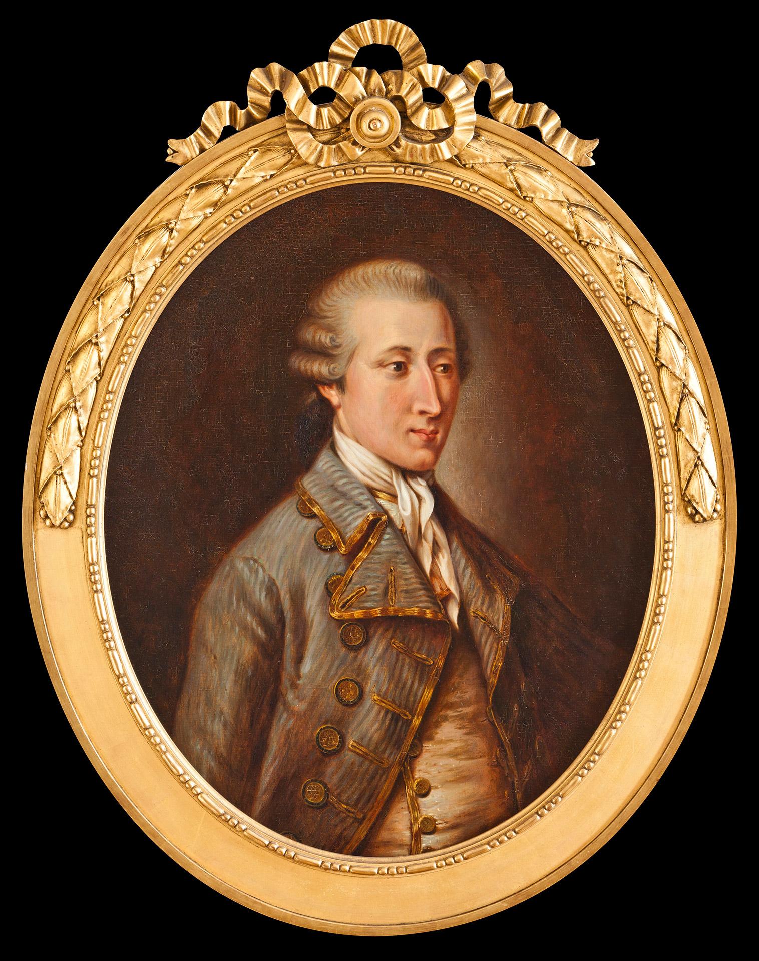 Portrait of the Comte de Lauraguais