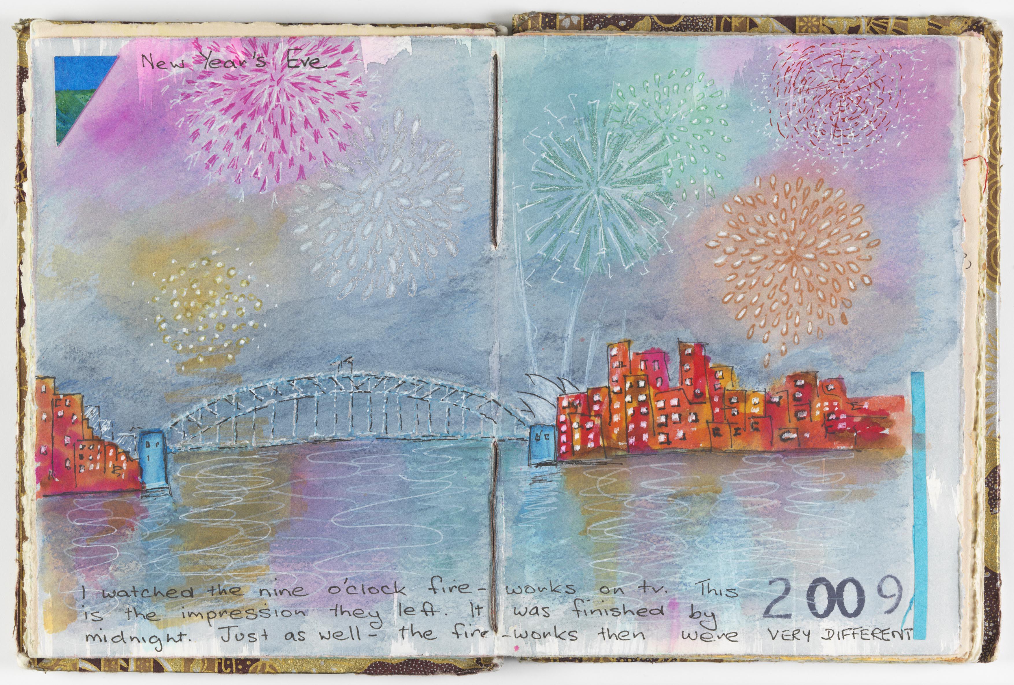 Artists' sketchbook, Volume 2, 2009–10, by Wendy Shortland