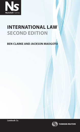 Cover for International law. 2nd ed
