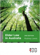 Cover for Elder law in Australia. 2nd ed