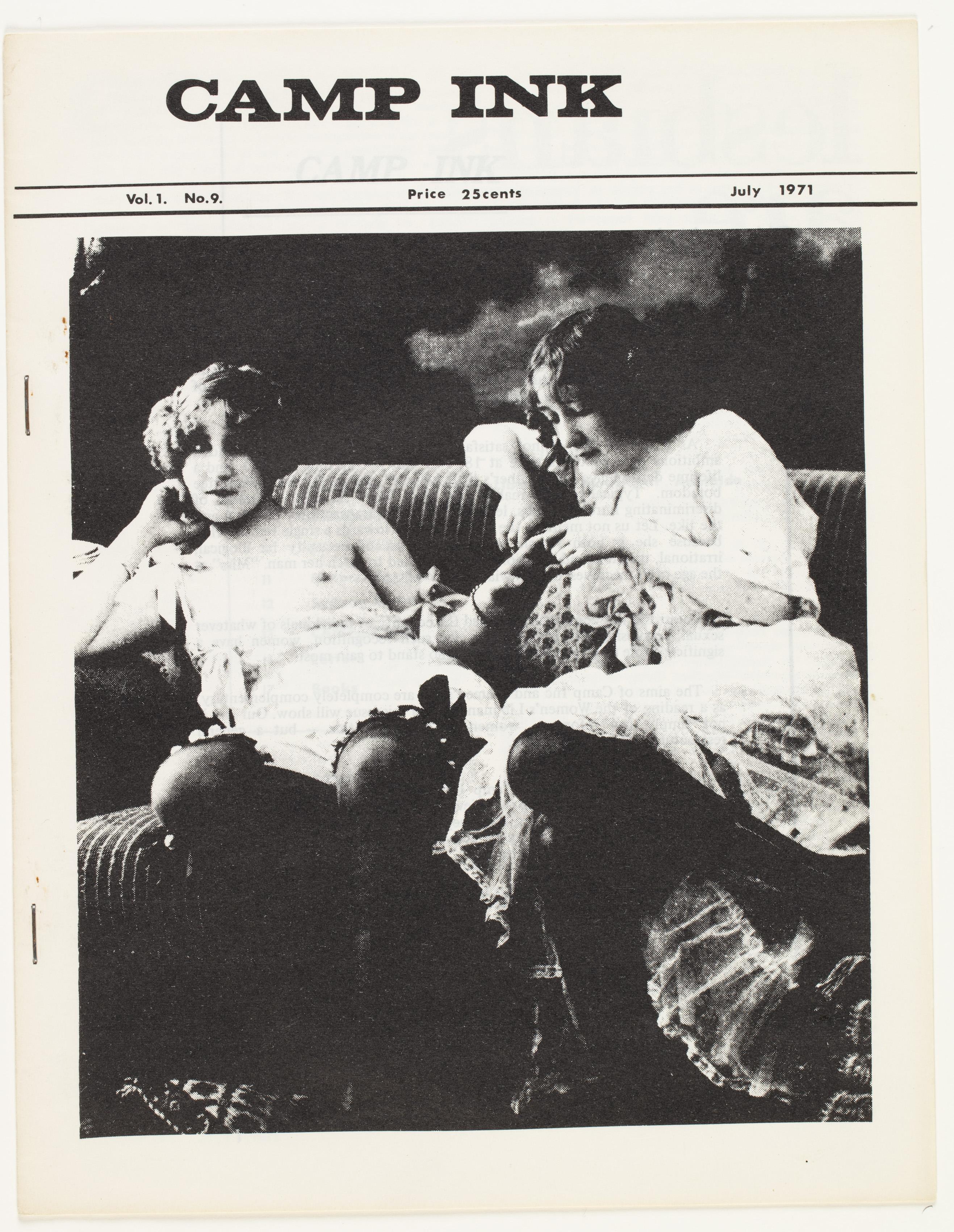 Camp Ink. Vol. 1, No.9 (July 1971)