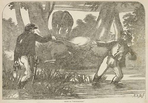 "\""The Death of Thunderbolt, the bushranger\"", 4 June 1870 Newspaper TN83"