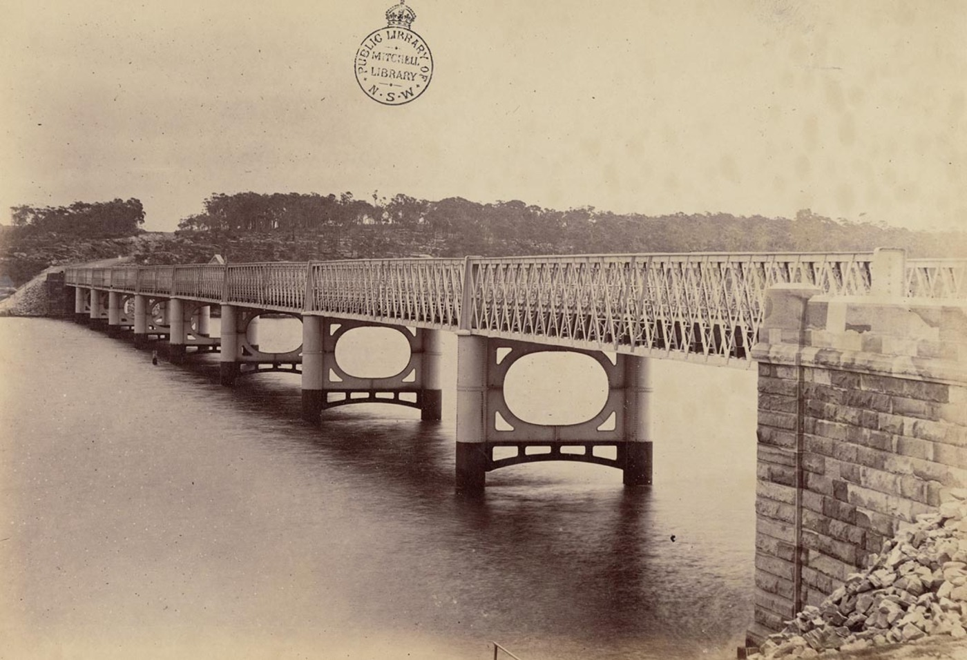 [Long (Iron) Cove Bridge, Sydney]