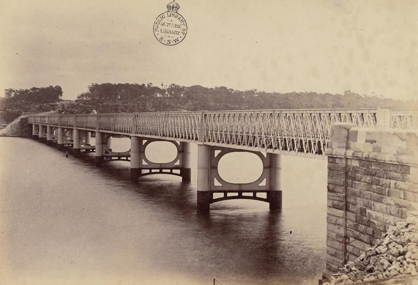 [Long (Iron) Cove Bridge, Sydney]