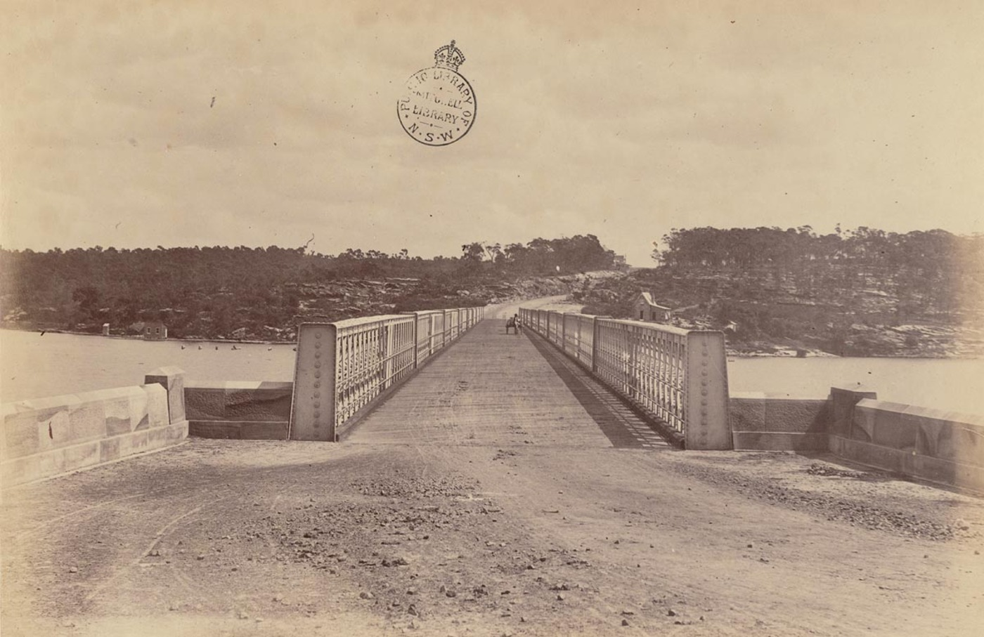 [Long (i.e. Iron) Cove Bridge, Sydney]