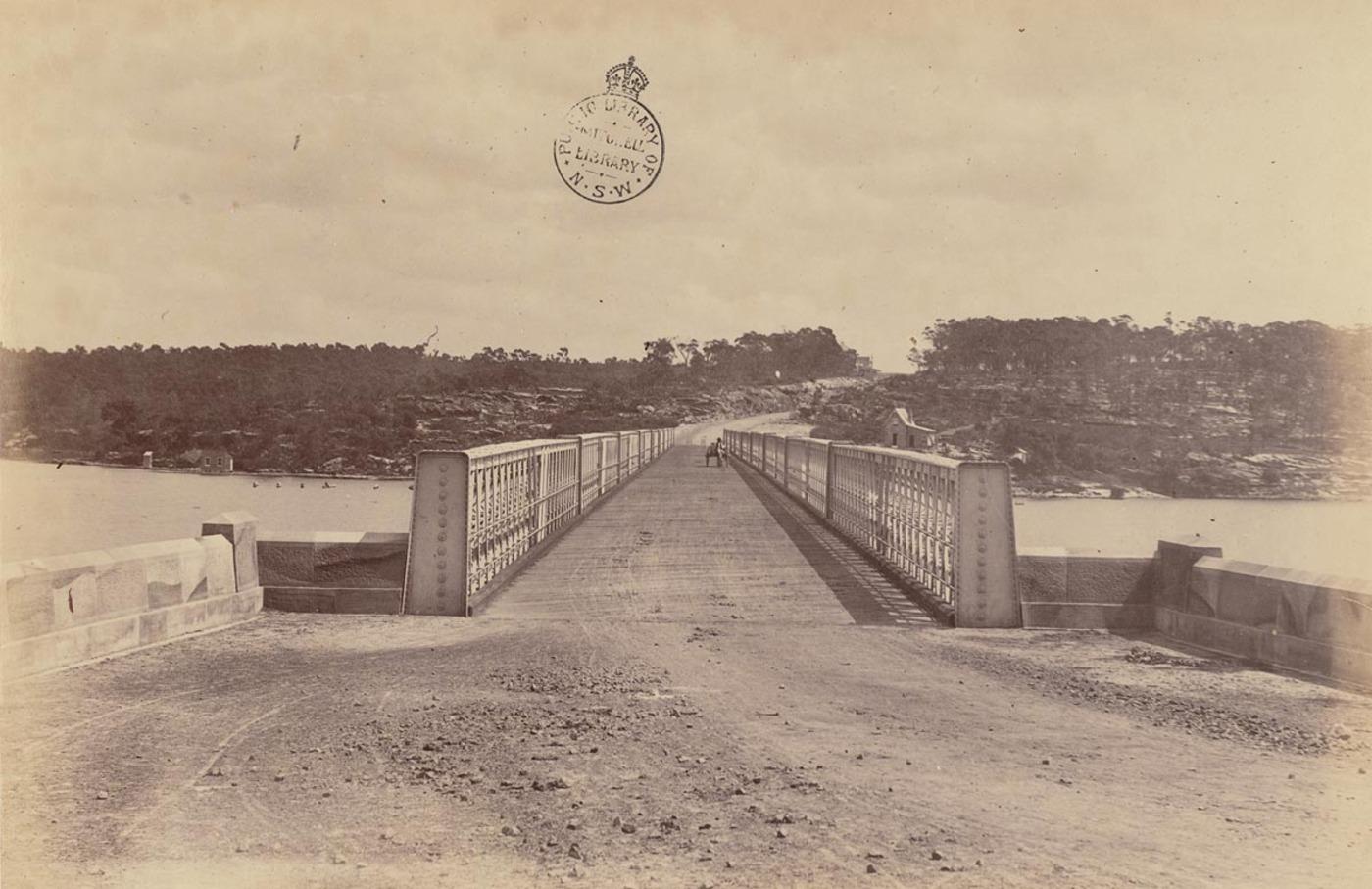 [Long (i.e. Iron) Cove Bridge, Sydney]