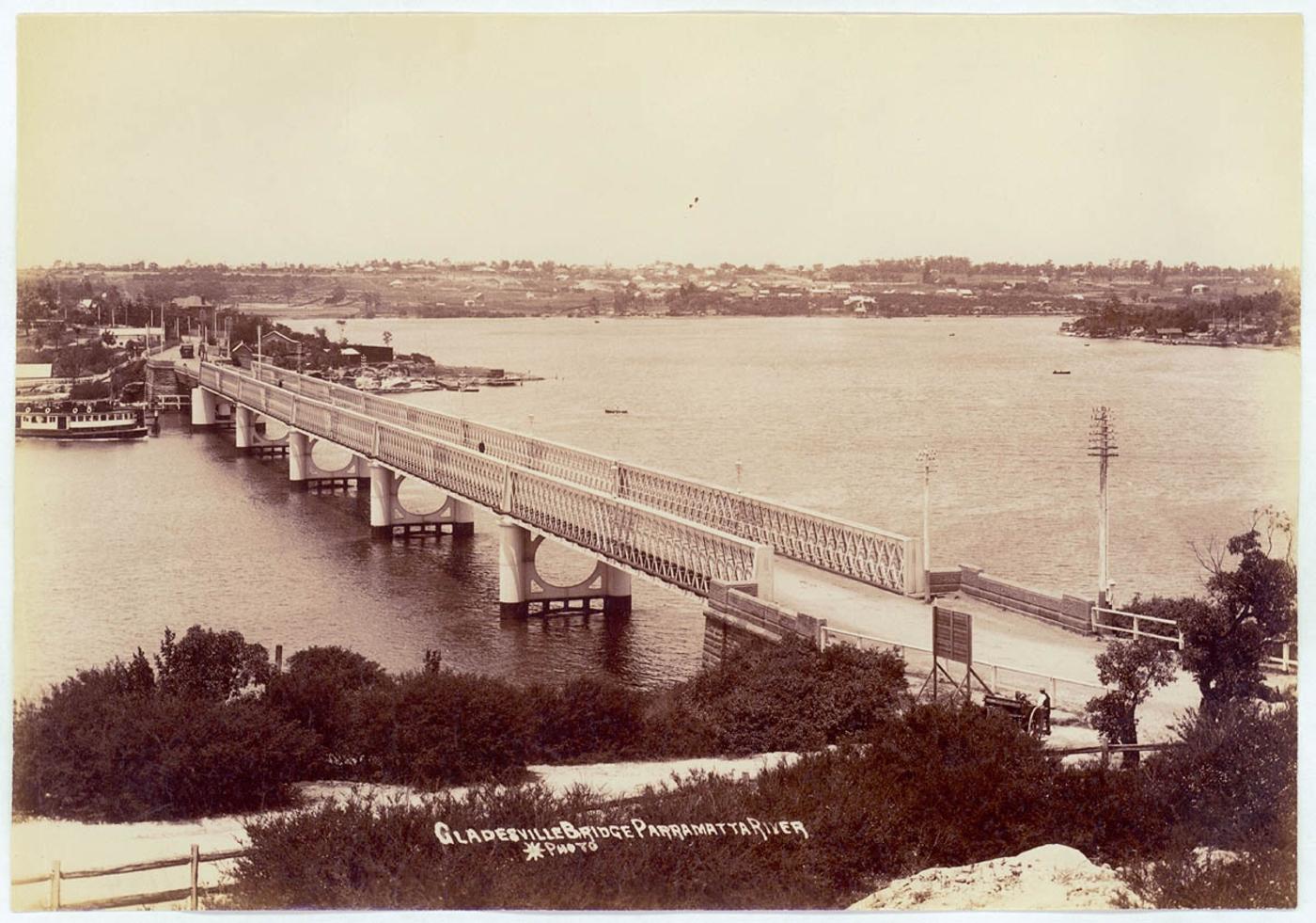 Gladesville Bridge, Parramatta River