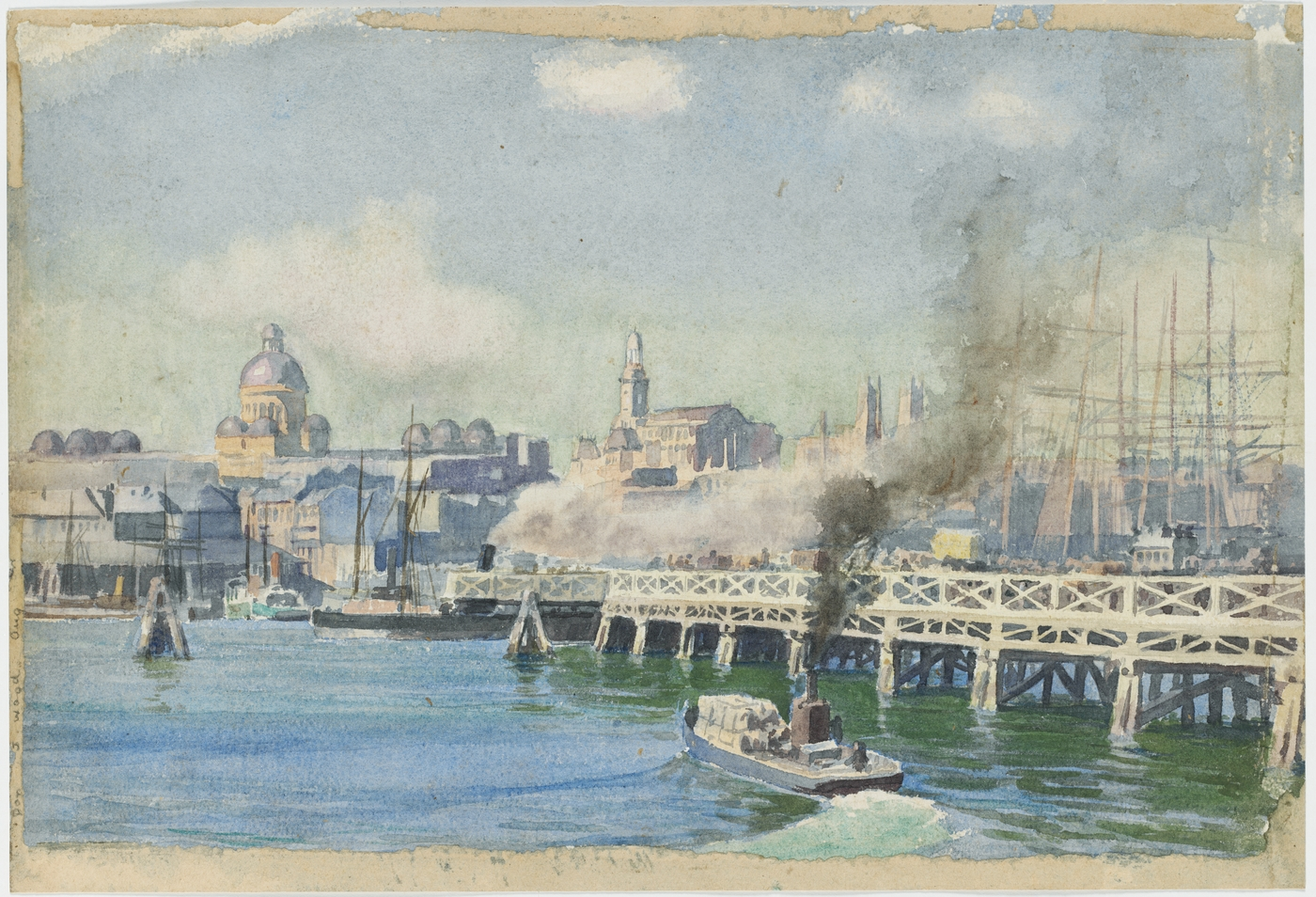 Pyrmont Bridge, c.1900 / G. Coutts