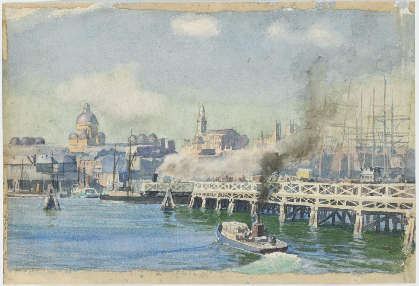 Pyrmont Bridge, c.1900 / G. Coutts