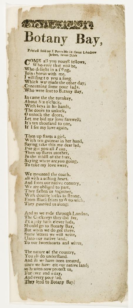 Botany Bay Ballad