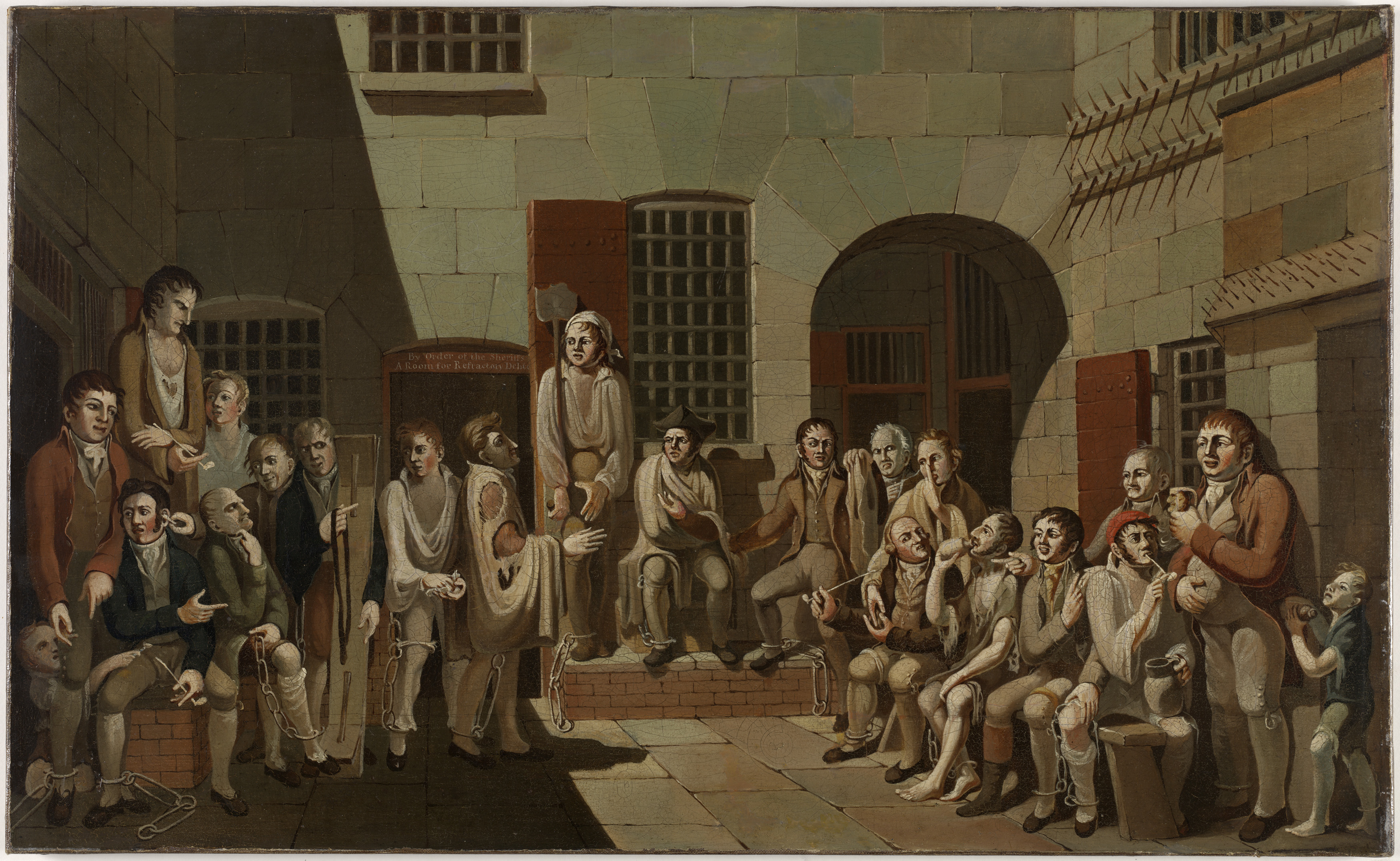 Item 1: The mock trial, 1812 / painted by Francis Greenway