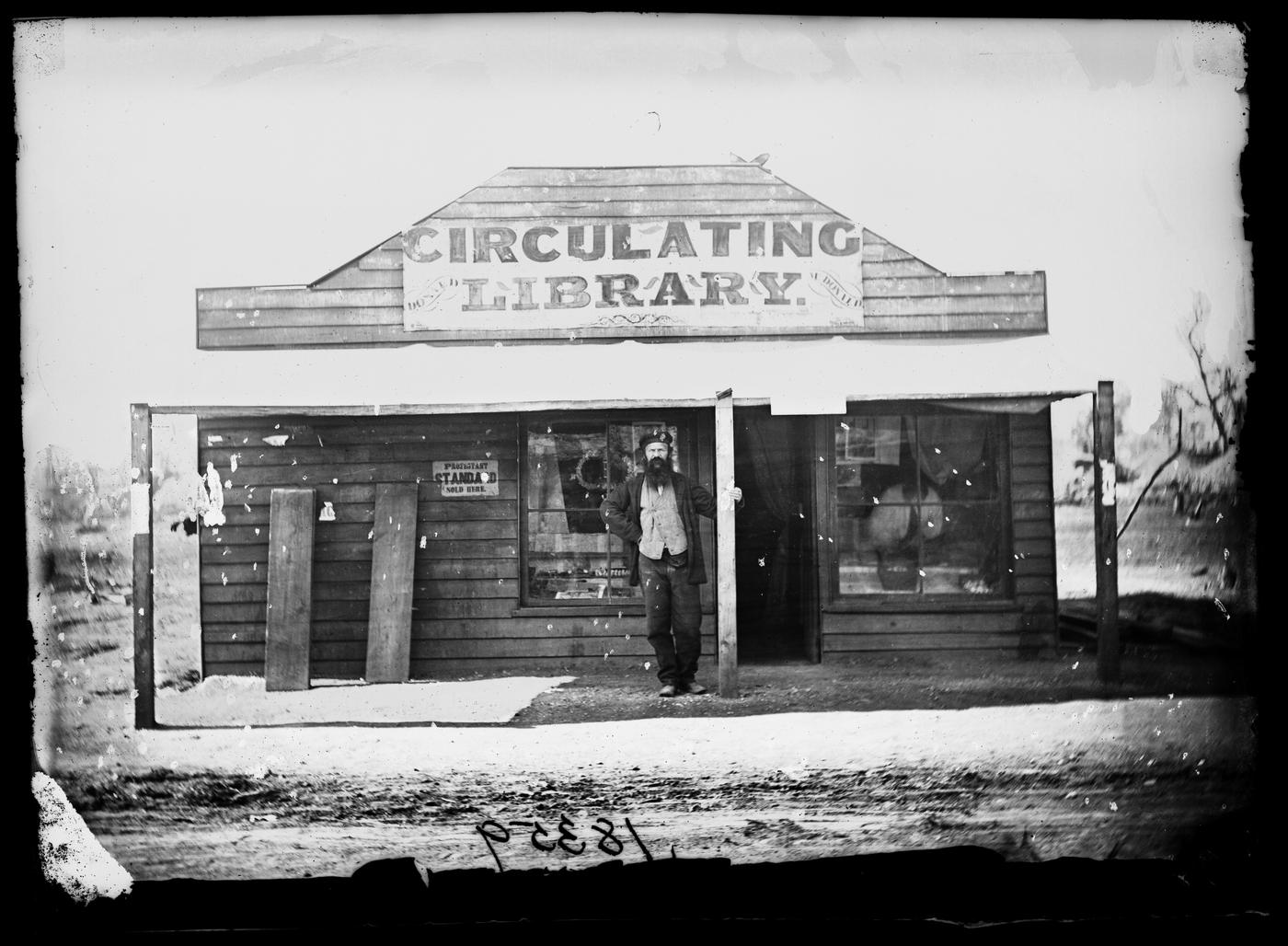 Donald McDonald, stationer, and his Circulating Library, Gulgong