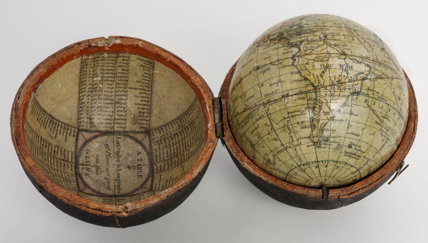 Cary's Terrestrial Pocket Globe