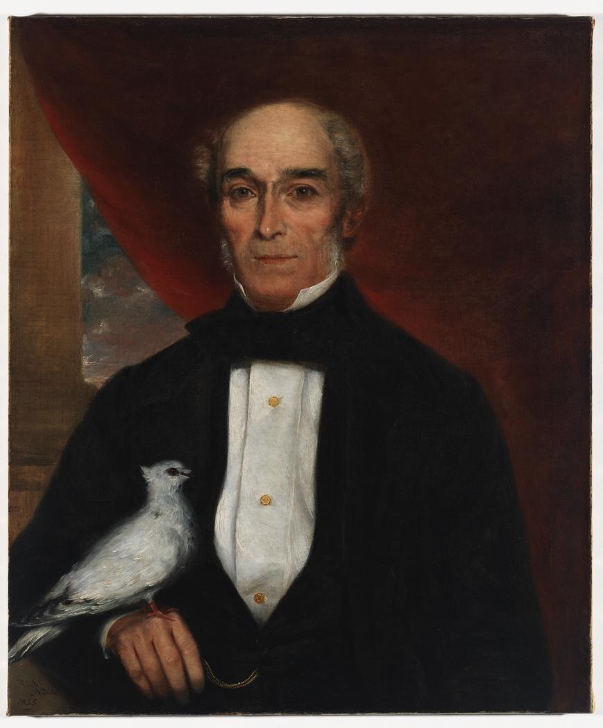 Item 03: Portrait of John Larking Scarvell, 1855 / oil painting by Richard Noble