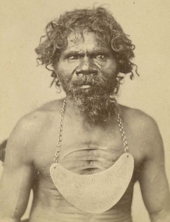 Portraits of Aboriginals from the Earngey album