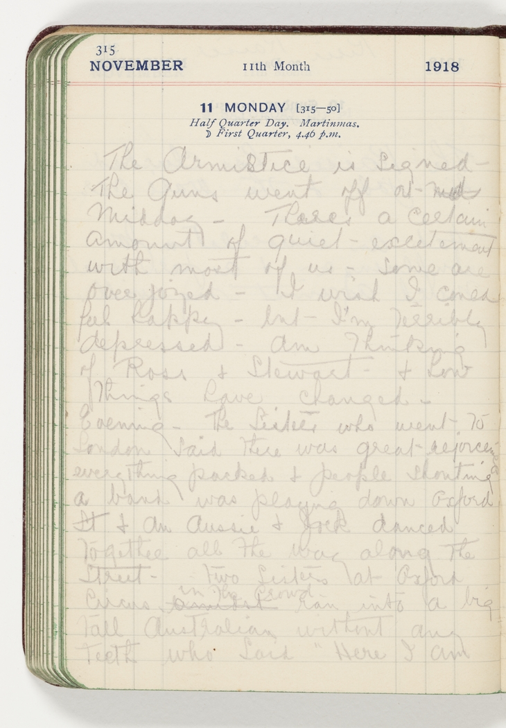 Series 02: Anne Donnell diary, 29 December 1917 - 31 January 1919