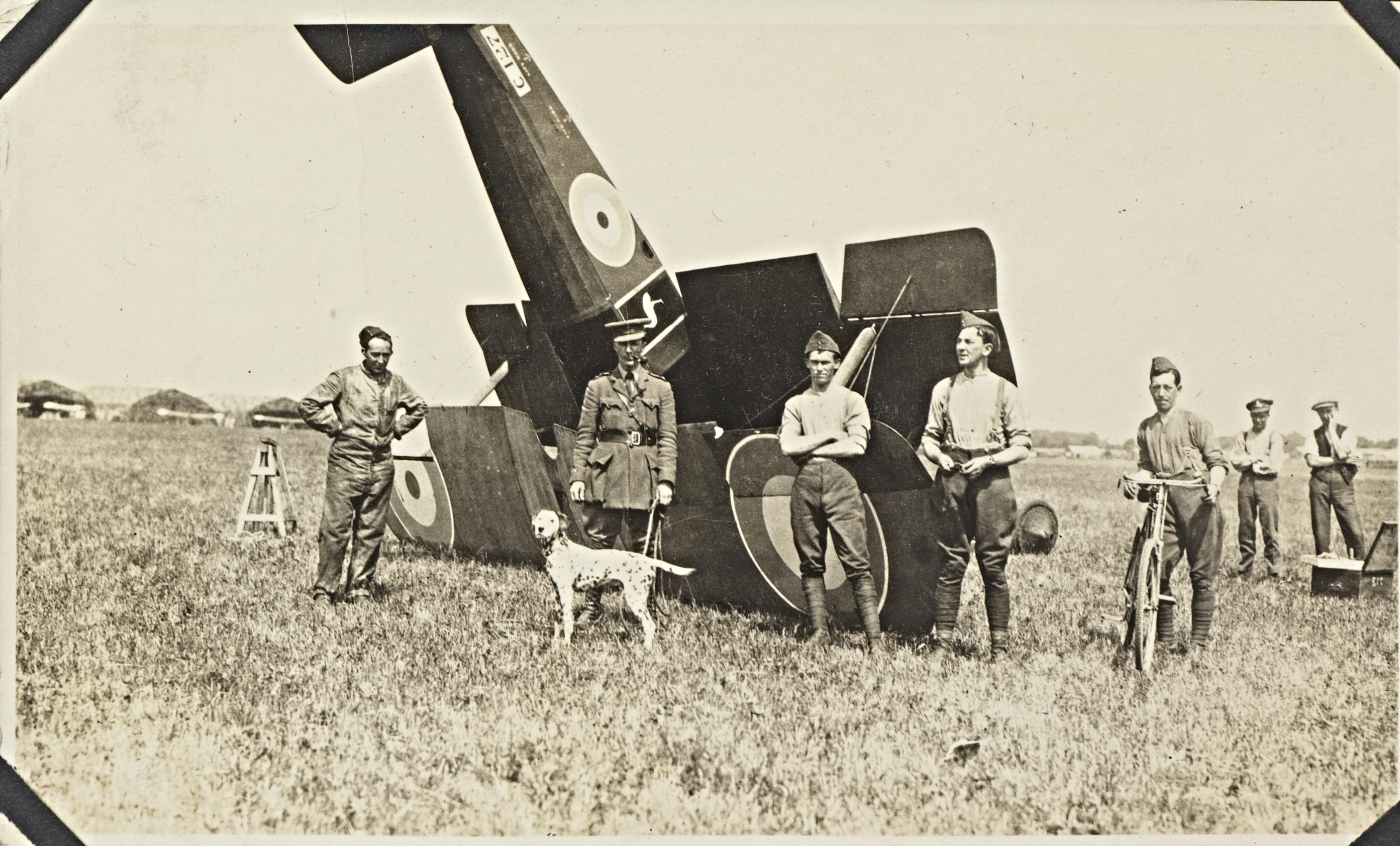 Alfred William Leslie Ellis - Album of travel photographs and overseas, ca. 1915-1920