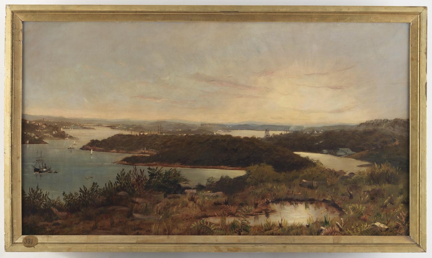 View in Sydney Harbour / Margaret I. Coulter
