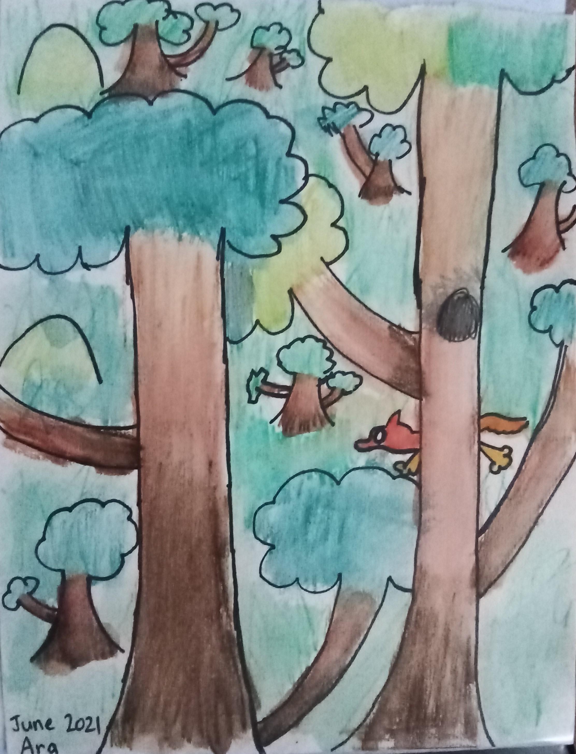 Arabella -Trees