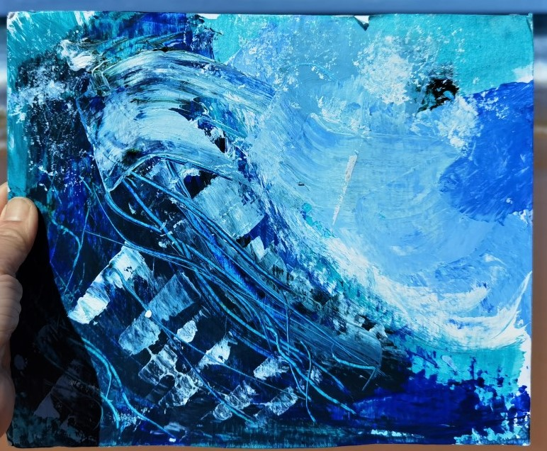 Bella -The wave painting