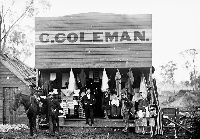 C. Coleman's drapery, Home Rule