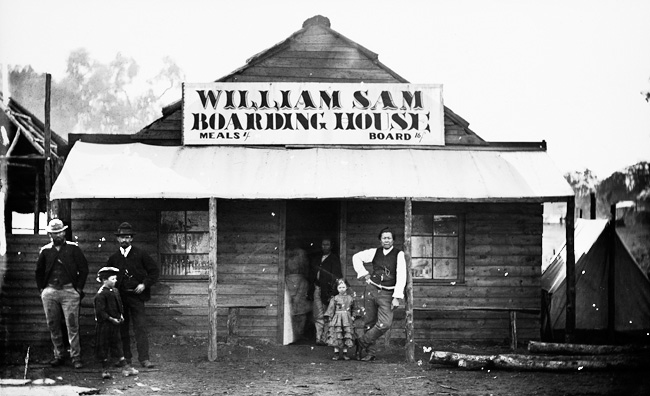 William Sam's Boarding House, Home Rule