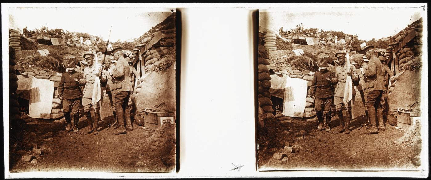 Gallipoli truce negotiation, 22 May 1915