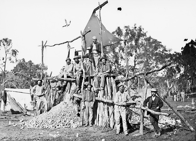 Gold miners strike a new claim at the mine head
