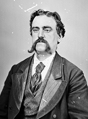 Portrait of Gus Peirce. Holtermann negative 733, box 23.