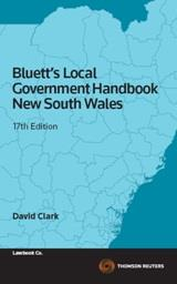 Cover for Bluett's local government handbook New South Wales. 17th ed