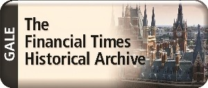 Financial Times Historical Archives 1888-2016