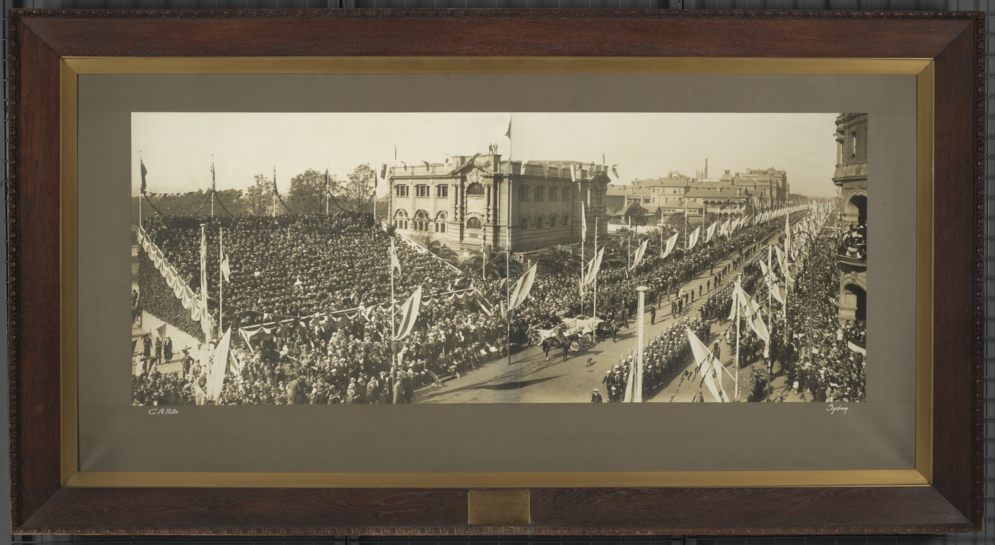 Peace celebrations Sydney, July 19, 1919 / G.A. Hills