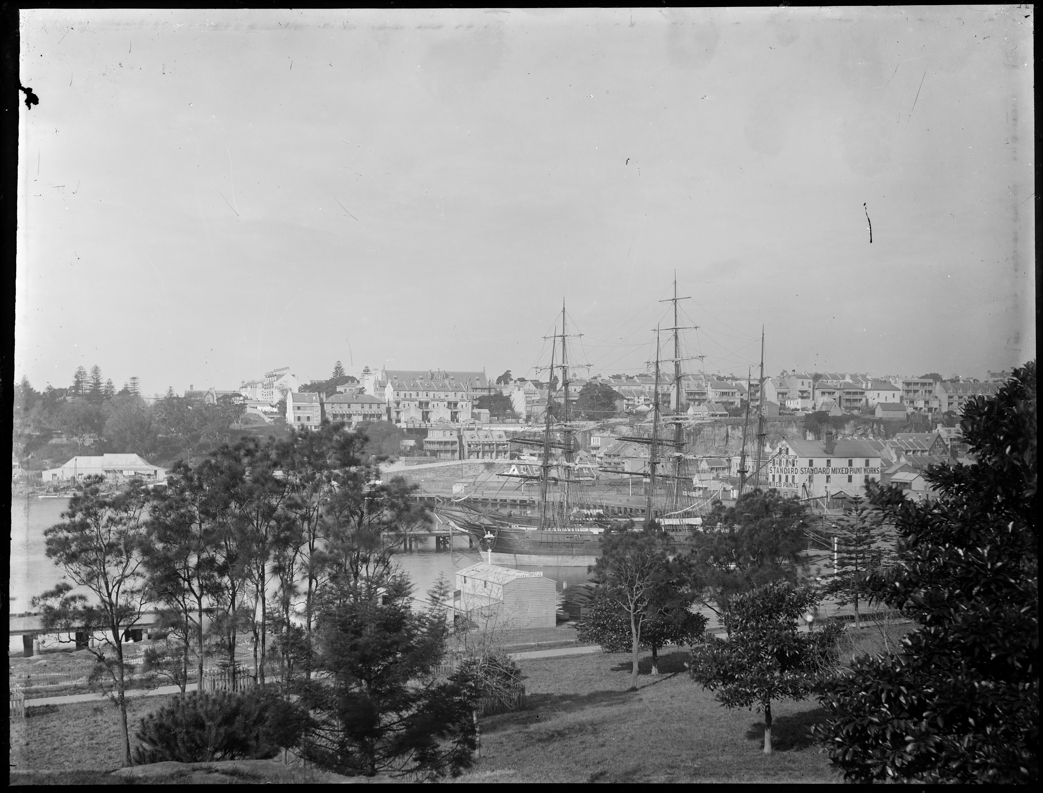 Box 02: Glass negatives including images of boating, beaches, motoring and houses in the Sydney region, ca 1890-1910