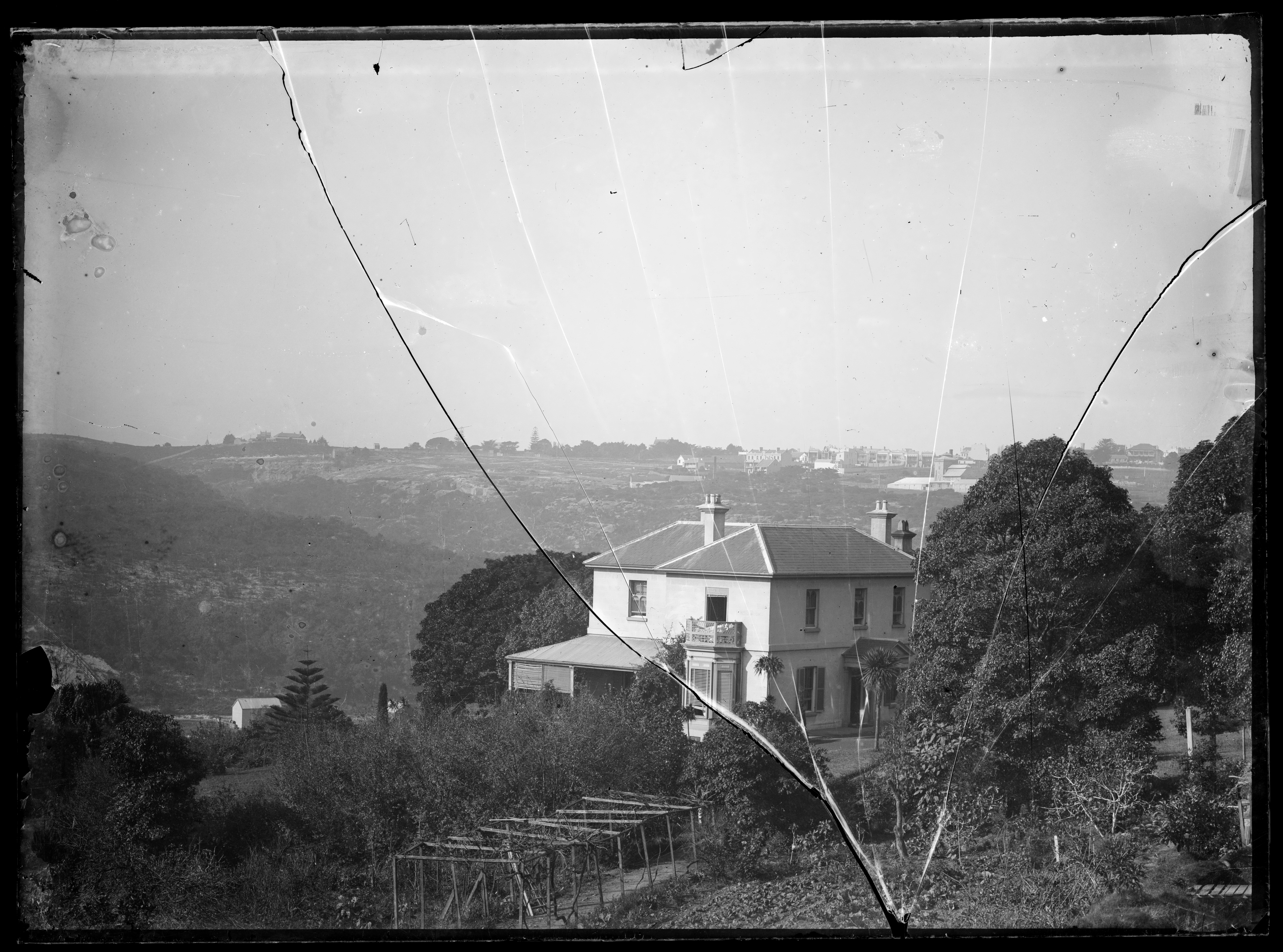 Hawthornden house, from Edgecliff Road, Woollahra