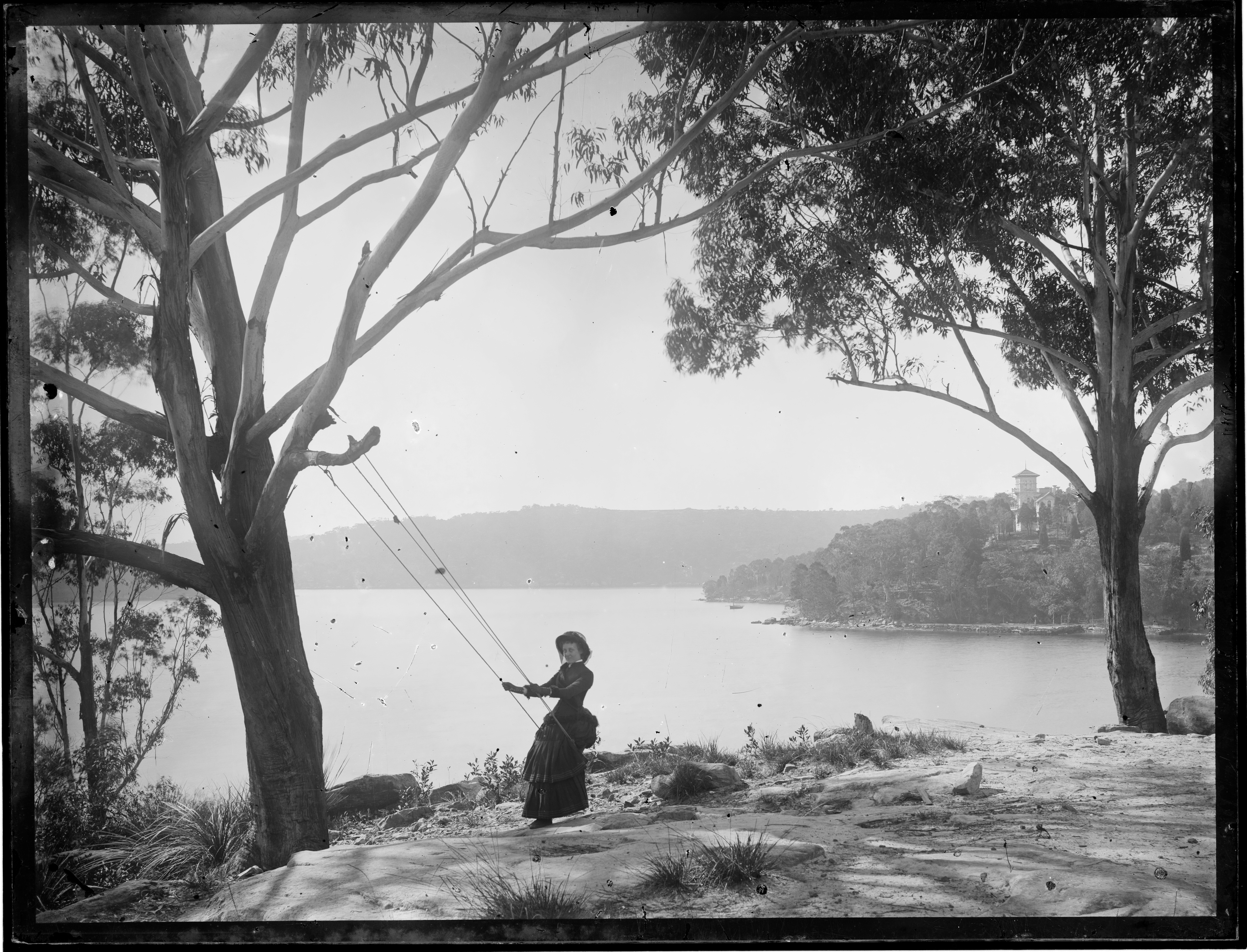 Folly Point, with view to Warringah Lodge, North Cremorne, and Middle Harbour