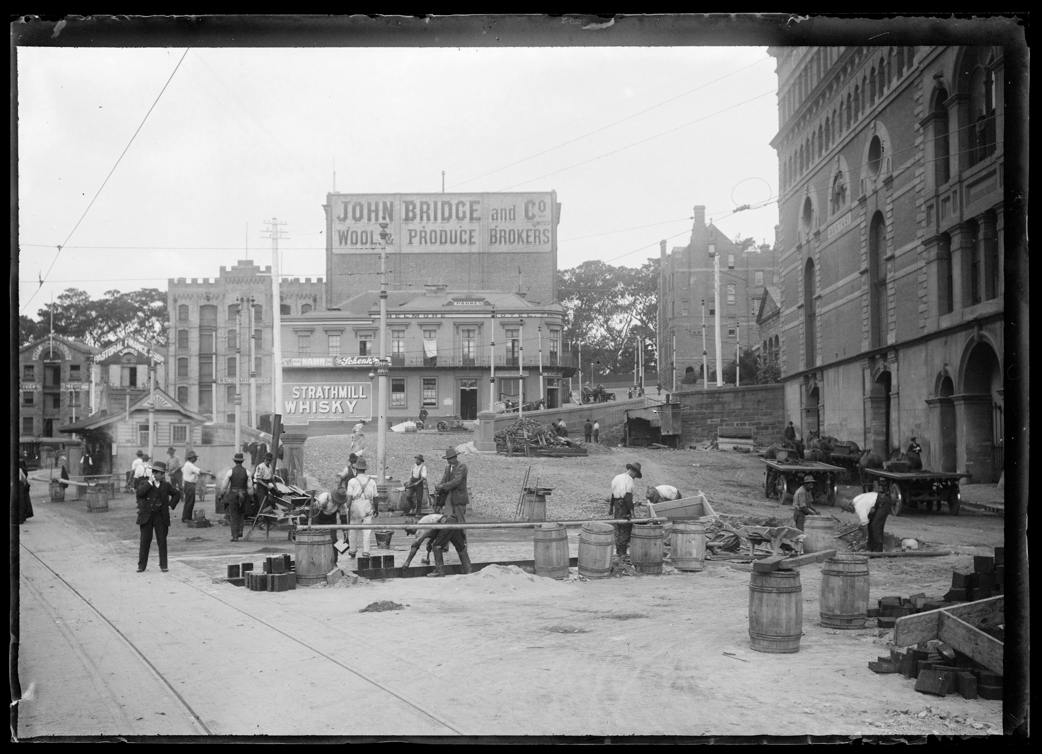 Box 24: Glass negatives including views of Sydney Harbour, Royal Botanic Gardens, and Circular Quay, Sydney, ca. 1890-1910.