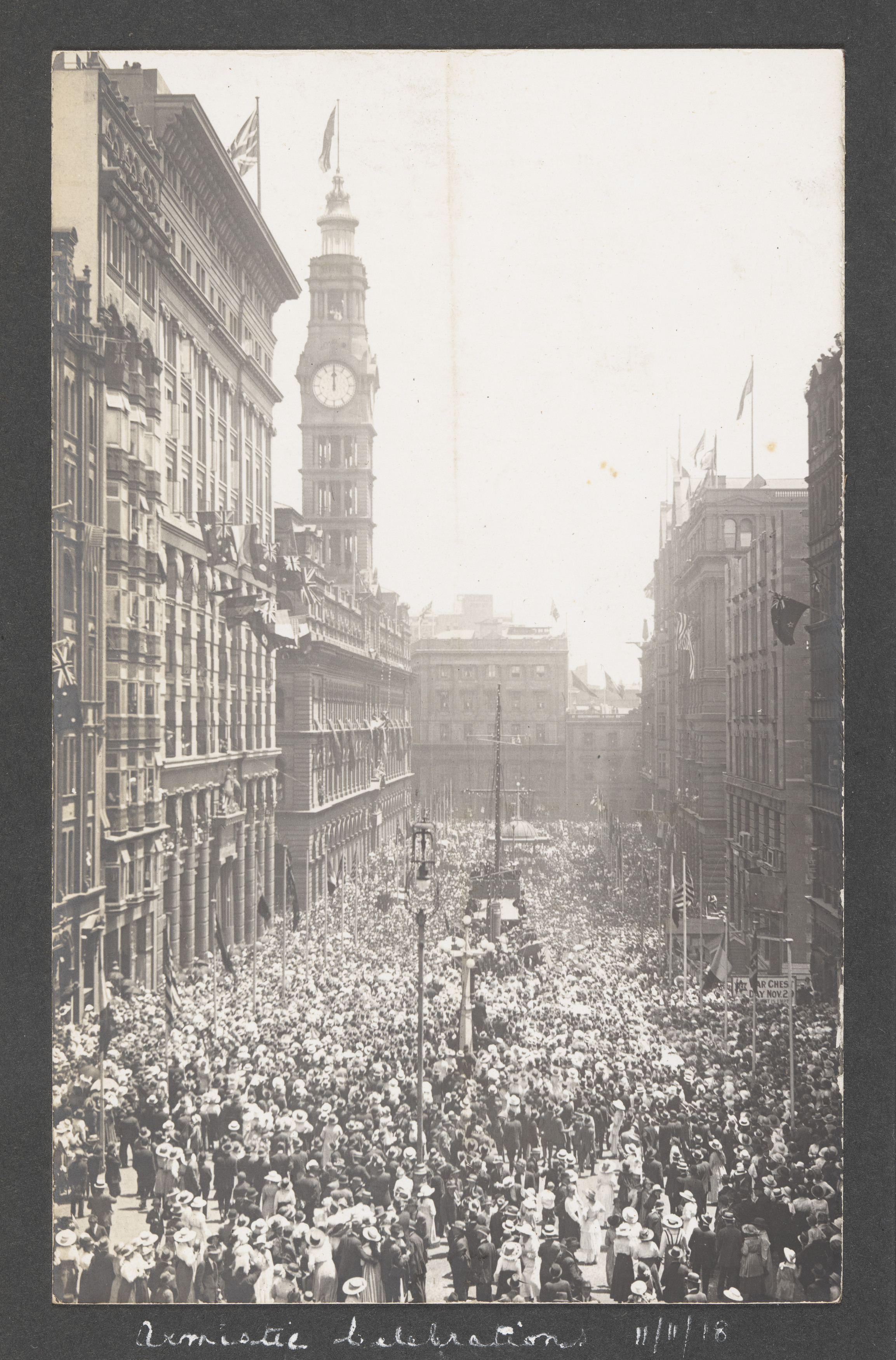 World War I peace celebrations, Sydney, October 1918-1919 / photographer unknown