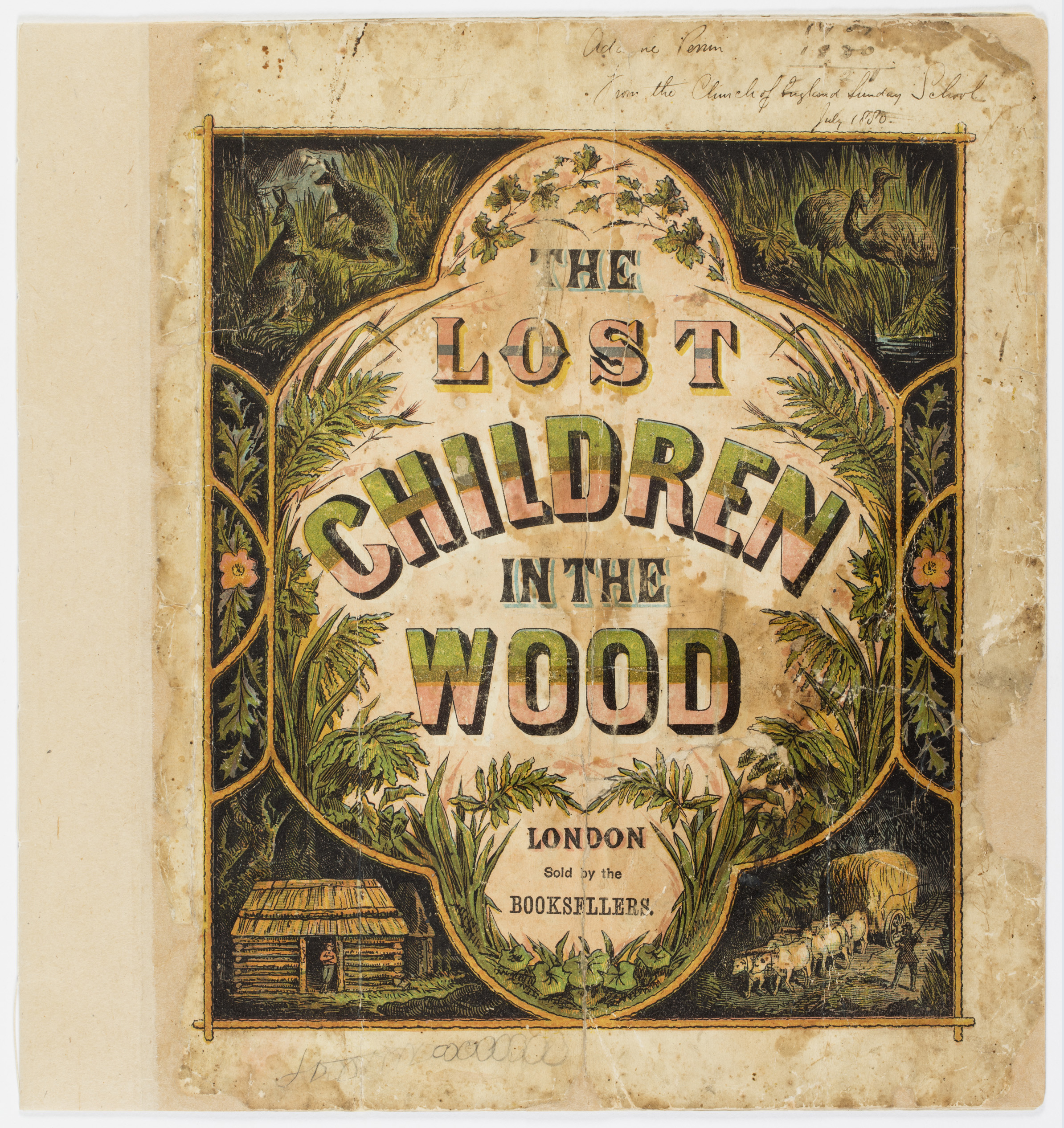 Cover of the Lost children in the Wood book